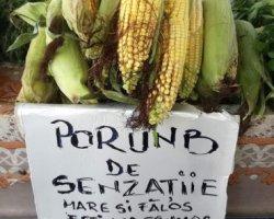 Ce vinde un ţăran la piaţă