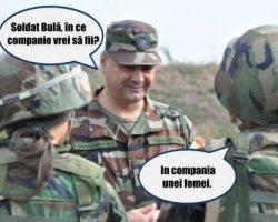 Ce veste a primit Bula cand era in armata